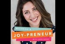 Joyful Entrepreneurship / Advice and tips for women looking to be more joyful entrepreneurs. Topics include running your own business, dealing with challenges, and managing a profitable business. Links to Joypreneur podcast episodes for female entrepreneurs are also included in this board.