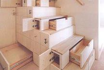 built in - Einbauten // storage - Stauraum