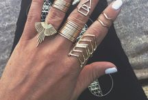 ❤️JEWELRY⭐️ / Be creative, be unique! And don't forget that a jewelry can simply totally change your look!⭐️⭐️