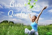 Great Inspirational Quotes / Welcome to large collection of Inspirational and Motivational Quotations. Our goal is to help you by delivering amazing quotes to bring inspiration, personal growth, love and happiness to your everyday life. Many of these Inspiring quotations add a positive thought to your day. Many great quotes in different subjects covered. Be Inspired, or Inspired others!! Good Luck! Love You.......