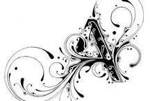шрифты и типографика / разнообразные примеры шрифтов для вдохновения