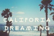 California Dreaming / My travel to do list for my trip to California and Las Vegas