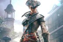 Игровой дизайн / Дизайн в мире компьютерных игр.  Постеры, плакаты, обложки, афиши и т.п. связанное с видео-играми.