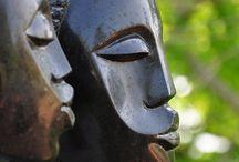 Sculpturen beelden en objecten / Beelden, ornamenten, objecten enz