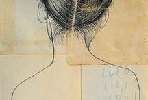 Tekeningen, collages en prints / Tekeningen, collages en posters