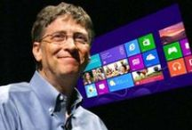 """Famous Inspiring Quotes Of Bill Gates / Entrepreneur Bill Gates founded the world's largest software business, Microsoft, with Paul Allen, and subsequently became one of the richest men in the world.  These quotes show how Gates grew from start up nerd to software titan to history-shifting activist.In 1970, at the age of 15, Bill Gates went into business with his pal, Paul Allen. They developed """"Traf-o-Data,"""" a computer program that monitored traffic patterns in Seattle, and netted $20,000 for their efforts."""
