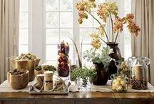Decoración floral en otroño / Adapta la decoración de tu hogar, con centros de mesa, plantas, jarrones con flores, etc. con un aire otoñal acorde a la temporada