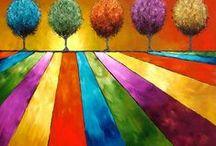 Op Kleur / diepe, warme, vrolijke kleuren daar word ik blij van