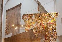Art installaties / Grote objecten, allerlei materialen