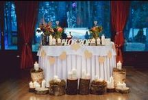 Ягодная свадьба / Свадьба в стили рустик, оформленная в ягодной тематики