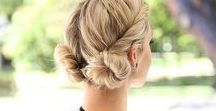 everyday hairstyles / simple and cute