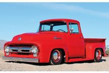 Ford Pick-up 1953...1956 Second Generation