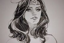 DC Comic Book Art