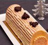 Desserts de Noël / Des idées de desserts pour le repas de Noël: bûches, biscuits de l'Avent, Truffes au chocolat, mendiants, et autres gourmandises