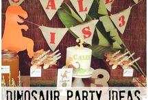 Caleb's 3rd B'day - Dinosaurs