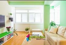 Obývací pokoje - opravdové, z reálných bytů / Fotografie námi prodávaných nemovitostí - možná to bude i inspirace pro Vás z reálného života
