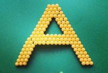 Alphabet / Aquabeads is as easy as ABC