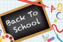 Back To School Fun / From Pre-K to College, school is back and more fun than ever!