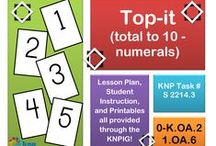 """Structuring (S) / These activities that look similar may have slightly different directions, some easier for students than others. If you found this activity helpful and would like to see more, please register on the KNP website (copy and paste into your browser: http://knp.kentuckymathematics.org/#!/page_register or search """"Kentucky Numeracy Project)"""