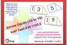 """Number Words & Numerals (Nf, Nb, & Ni) / These activities that look similar may have slightly different directions, some easier for students than others. If you found this activity helpful and would like to see more, please register on the KNP website (copy and paste into your browser: http://knp.kentuckymathematics.org/#!/page_register or search """"Kentucky Numeracy Project)"""