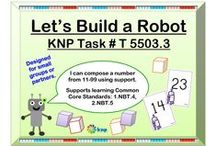 """10s & 1s (T) / These activities that look similar may have slightly different directions, some easier for students than others. To link directly to the pictured activity, login to the KNP (Kentucky Numeracy Project) first and then click the picture. To receive login instructions, please register on the KNP website (copy and paste into your browser: http://knp.kentuckymathematics.org/#!/page_register or search """"Kentucky Numeracy Project)"""