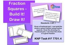 """Fractions (F) / These activities that look similar may have slightly different directions, some easier for students than others. To link directly to the pictured activity, login to the KNP (Kentucky Numeracy Project) first and then click the picture. To receive login instructions, please register on the KNP website (copy and paste into your browser: http://knp.kentuckymathematics.org/#!/page_register or search """"Kentucky Numeracy Project)"""