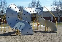 Climbers / Add playground components like climbers to add even more fun to your park or playground! Climbers can help revitalize and expand an old park and to fill in a few gaps. Independent climbers can also be added for more play options!