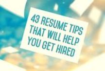Resumes, CVs, Cover Letters, and More / Templates for professional materials