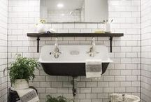 HOME | Bathrooms / Houston fashion and style blogger, Haute and Humid shares a curated board of bathroom decor ideas.