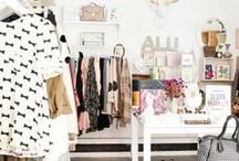 HOME | Dream Closets / Houston fashion and style blogger, Haute and Humid shares a curated board of closet organization and decor ideas.