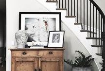 HOME | Hallways and Entryways / Houston fashion and style blogger, Haute and Humid shares a curated board of hallway and entryway decor ideas.