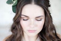 Wedding Bride style/details / Hur jag drömmer om att ha håret, smink m.m