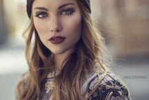 Cool girl / Vackra brudar med lite edge ✌️inspo