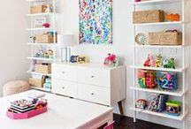 HOME | Playroom / Houston fashion and style blogger, Haute and Humid shares a curated board of playroom ideas.