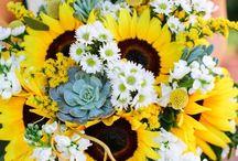Colourful Wedding-bukett