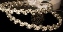 Swarovski Crystals to Wedding Crowns by Clarity / Swarovski crystals are the most beautiful crystals for your special day. They will complement your glow and will shine your smile ... even more!