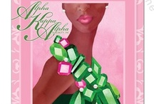 "AKA ❧ O Alpha Kappa Alpha / ""By culture and by merit"".  / by Rose"