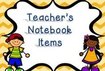 Teachers Notebook Items / Teachers Notebook Items Free or Paid
