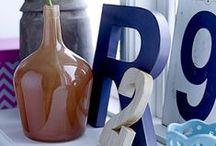 Letters, Numbers, Typo / Wir lieben es, mit Buchstaben und Zahlen zu dekorieren - und sind immer auf der Suche nach inspirierenden Stylings.