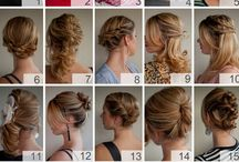 Hair / Everyday hairstyles and for special occasions.