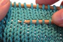 Knitting & Crochet / Patterns, hints & tips