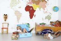 Kinderzimmer / Schöne Möbel, Spielzeug und Dekoideen für das Zimmer der Kleinsten <3
