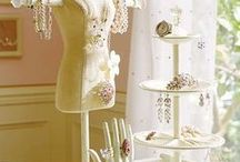 Jewelry Organization and Display / Inspiration and creative ways to store and display jewelry.  Some original and DIY ideas.  Both for home jewelry storage and craft shows.