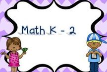 Math K - 2 / Any math products or ideas for grades K - 2.