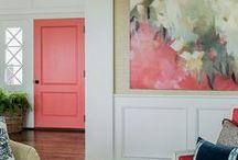 Color   Puertas y ventanas / Inspiración para dar color a las puertas y ventanas de tu casa. Descubre nuestros tonos de pintura en http://servicolor.com.