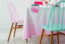 Color   Muebles / Inspiración para dar color a los muebles de tu casa. Descubre nuestros tonos de pintura en http://servicolor.com.