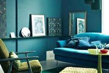 Color   Paredes / Inspiración para dar color a las paredes de tu casa. Descubre nuestros tonos de pintura en http://servicolor.com.