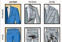Style Guide for Men / Références en habillement