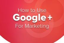 Social Media - Google+ / Google+ information (from beginner to advance) obtained off of the web. Information may be infographics, white papers, tutorials, blog posts etc.