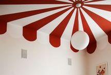 Color   Techos / Inspiración para dar color a los techos de tu casa. Descubre nuestros tonos de pintura en http://servicolor.com.